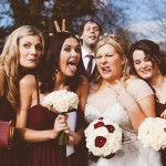 Fun and quirky wedding