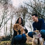 couple photo shoot, Natualy wedding photography, Barlaston downs, Photo Shoot with Pomeranians