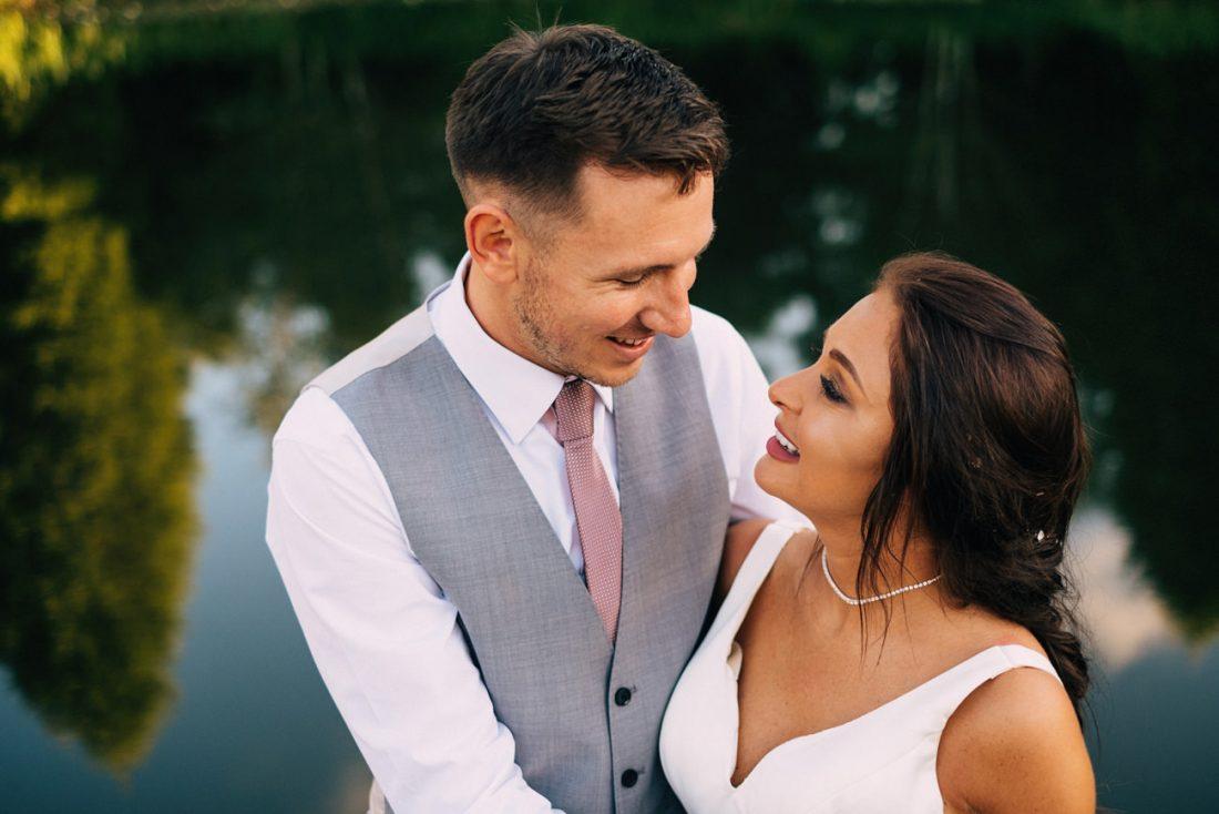 natural wedding photography at Moddershall Oaks, Staffordshire, Stone